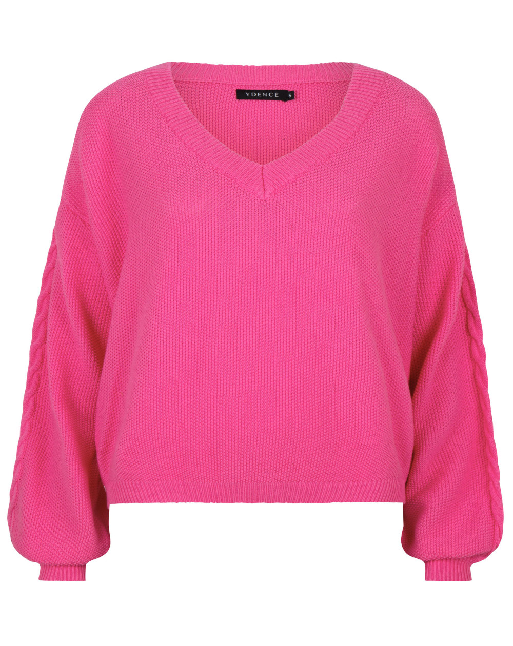 Knitted sweater Ines Pink