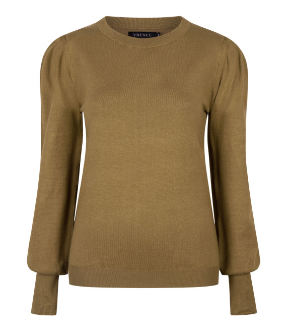 Knitted top Kelsey Olive