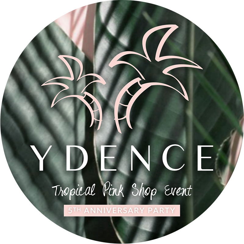 Ydence Tropical Pink Shop Event